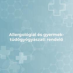 Allergológiai és gyermek-tüdőgyógyászati rendelő - Budapest, XII. ker.