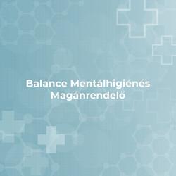 Balance Mentálhigiénés Magánrendelő