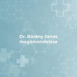 Dr. Bárány János magánrendelése - Budapest