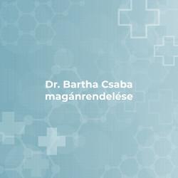 Dr. Bartha Csaba magánrendelése