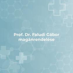 Prof. Dr. Faludi Gábor Magánrendelése