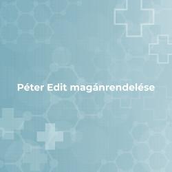 Péter Edit magánrendelése