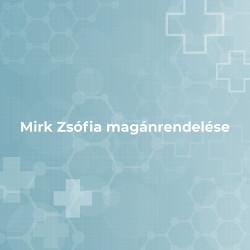 Mirk Zsófia magánrendelése