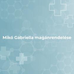 Mikó Gabriella magánrendelése