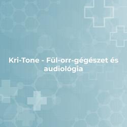 Kri-Tone - Fül-orr-gégészet és audiológia