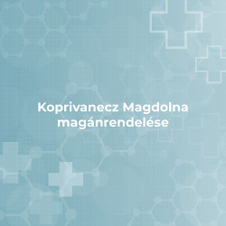 Koprivanecz Magdolna magánrendelése