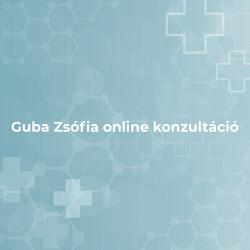 Guba Zsófia Online konzultáció