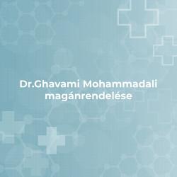 Dr.Ghavami Mohammadali Magánrendelése