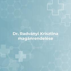 Dr. Radványi Krisztina magánrendelése -Érd (Burkoló utca 2.)