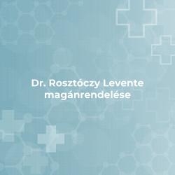 Dr. Rosztóczy Levente magánrendelése - Cegléd