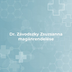 Dr. Závodszky Zsuzsanna magánrendelése